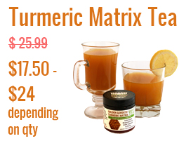 Golden Goddess Turmeric Matrix Instant Tea