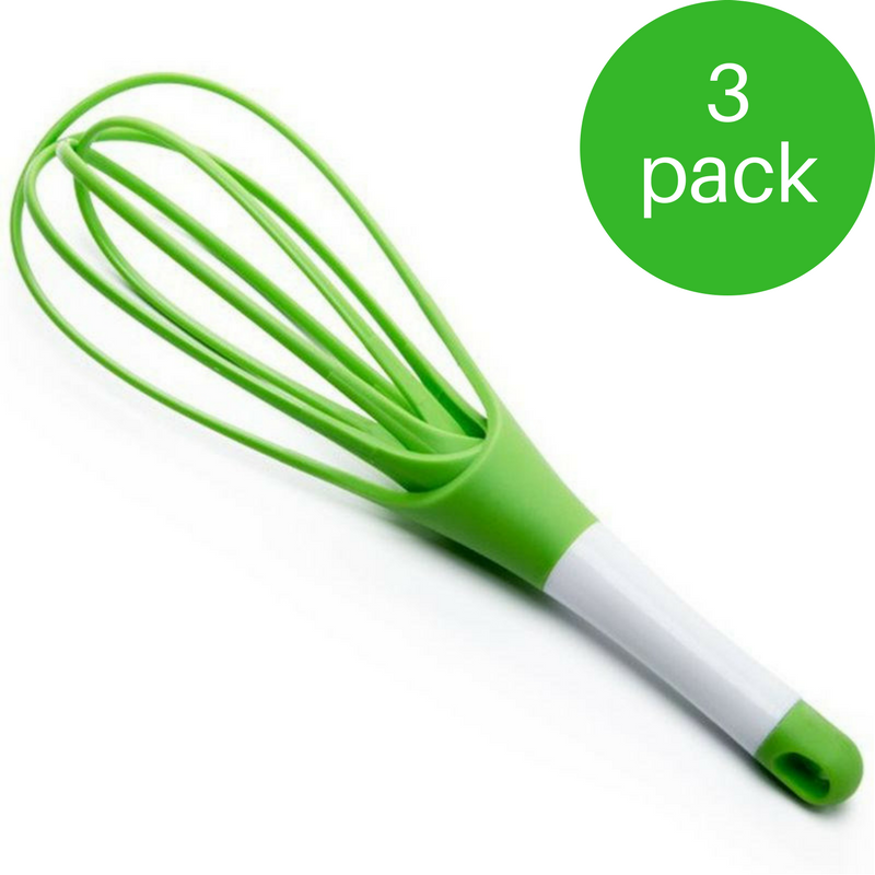 2 In 1 Silicone Whisk