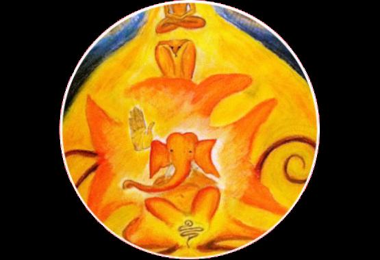 root chakra ganesha