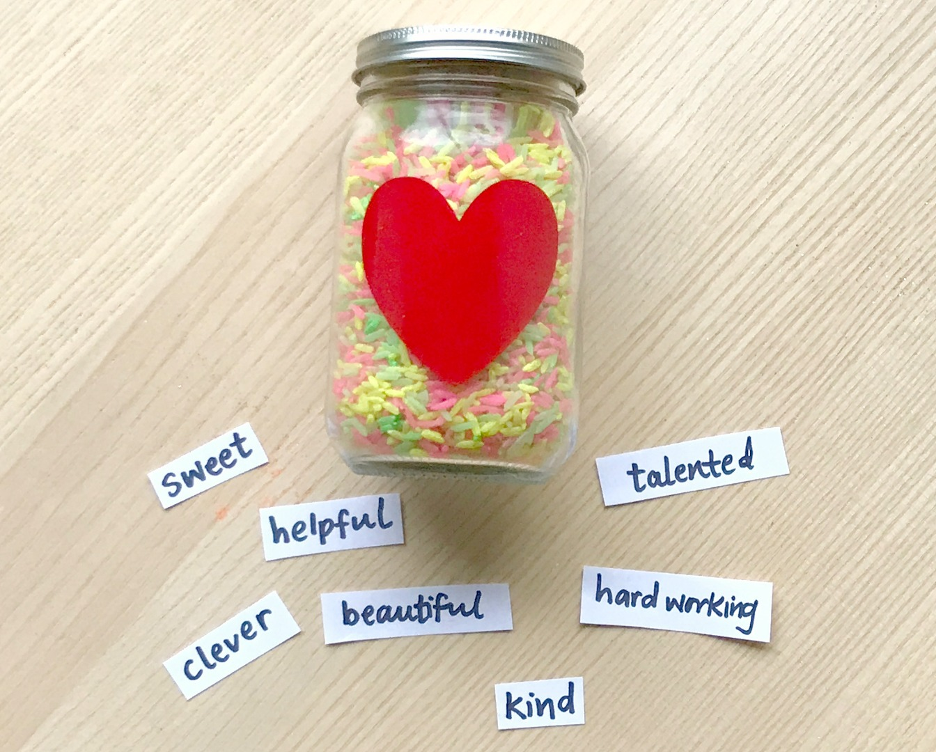 Kindness Jar ideas