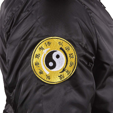 Bruce Lee Dragon Bomber Jacket | Right Sleeve