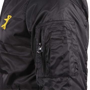 Bruce Lee Dragon Bomber Jacket | Left Sleeve