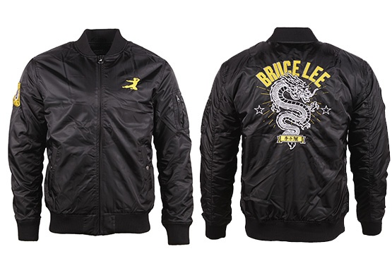 Shop Online For The Bruce Lee Dragon Bomber Jacket Now