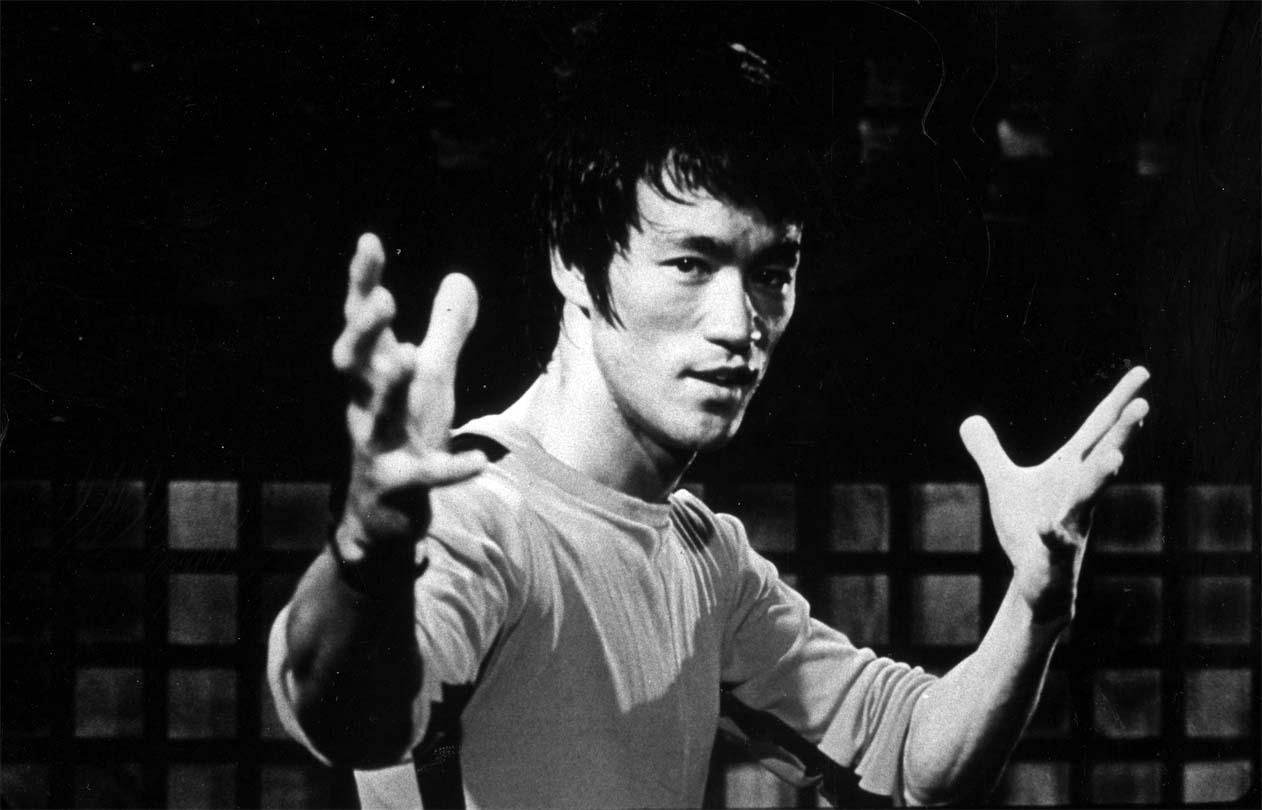 Bruce Lee Posing