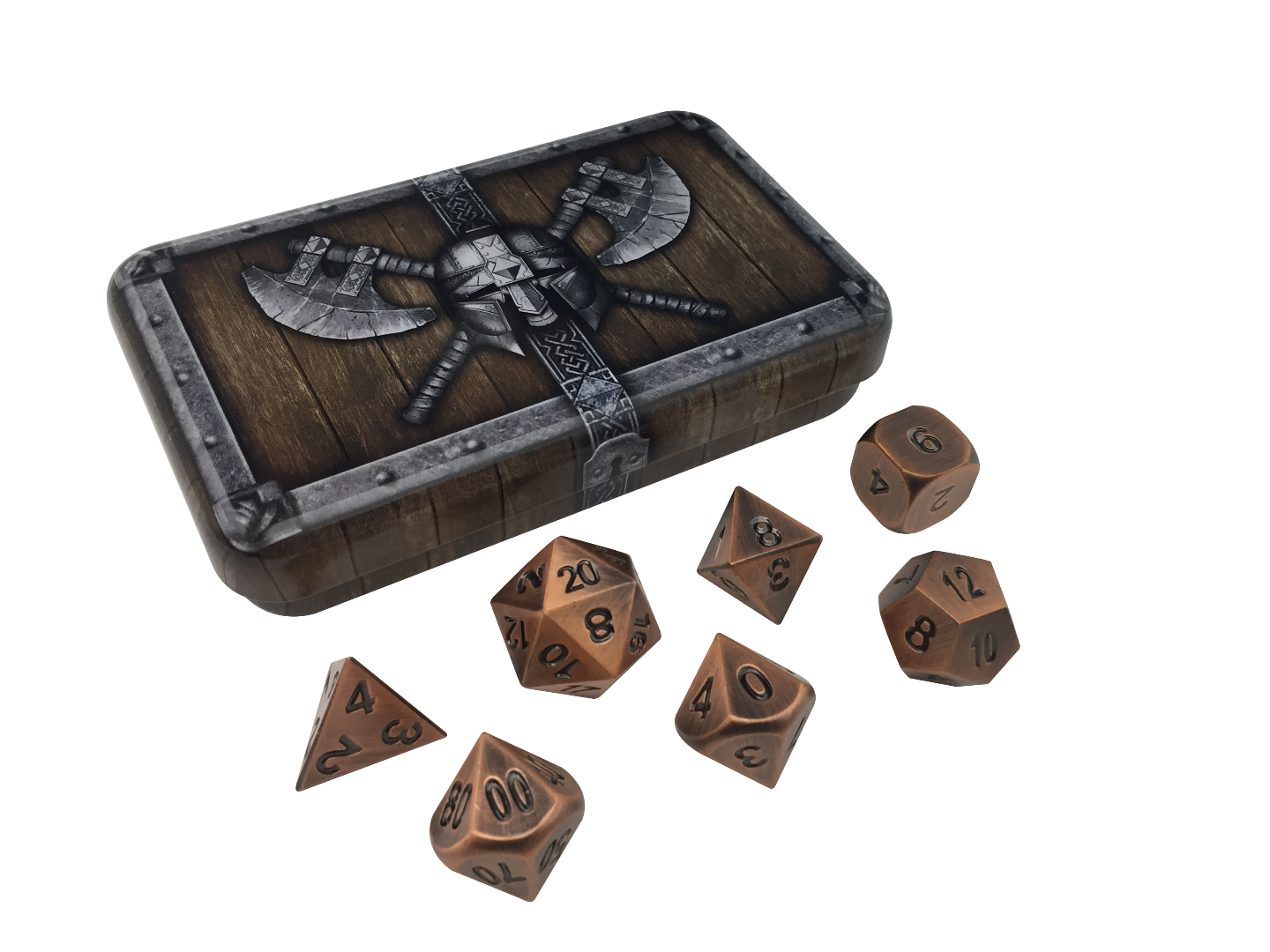 Dwarven Chest Metal Dice