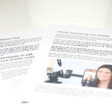 iPhone photography curriculum
