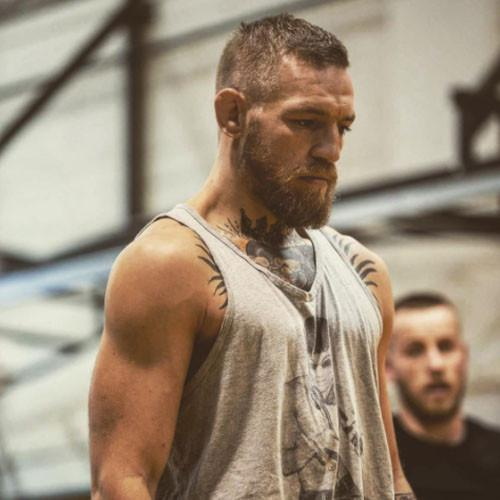 Conor McGregor Sports a DJ Dragon Tank Top