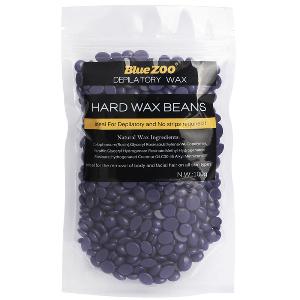 100g No Strip Depilatory Hard Wax Beans - Purple Lavender
