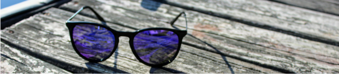 Eye Love Mirrored Sunglasses
