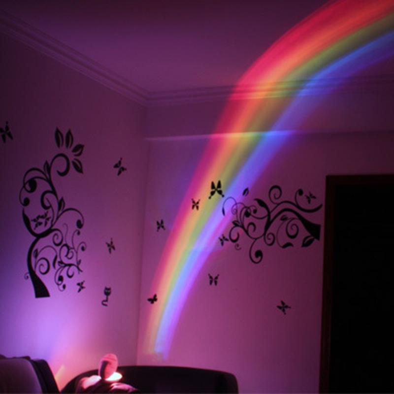 Rainbow Light LED Projector