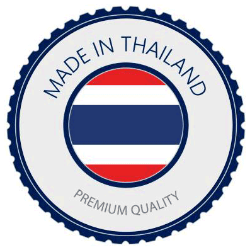 MADE IN THAILAND All our skincare products are formulated by experts and professionals in our factory located in Thailand.