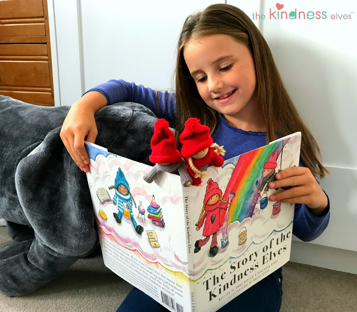 Reading with the Kindness Elves