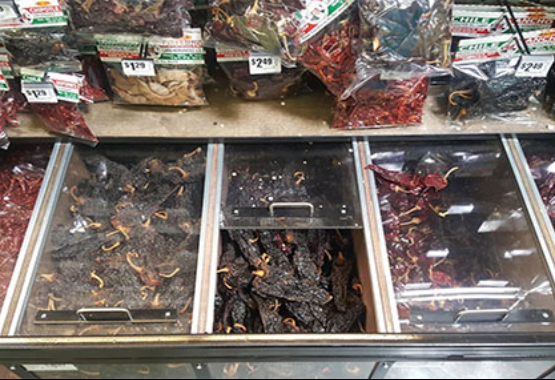 Supermarket Photo of Chiles