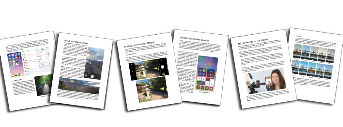 Sample Lessons Curriculum to Teach Kids Photography