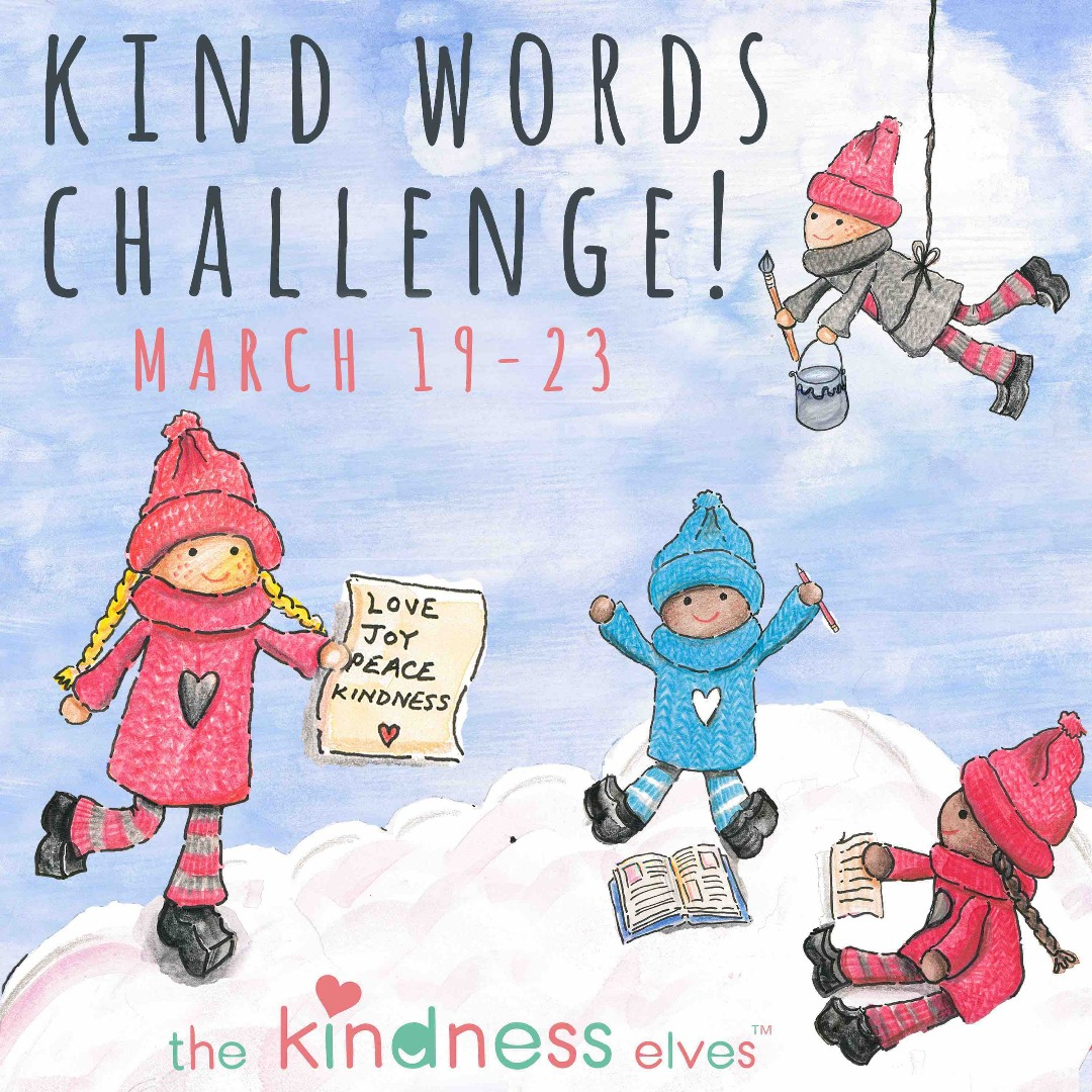 Kind Words Challenge with the Kindness Elves