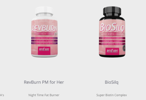 biosilq for her and rev burn pm for her