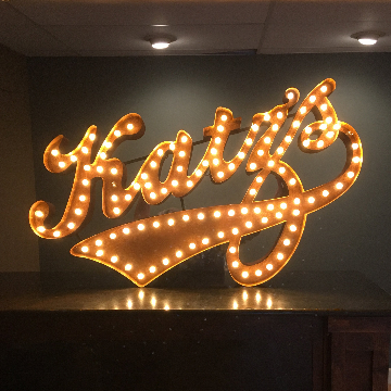 Custom Marquee Light From The Rusty Marquee