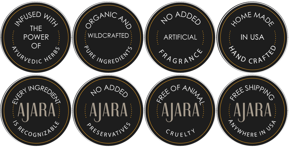Ajara products are always safe and organic