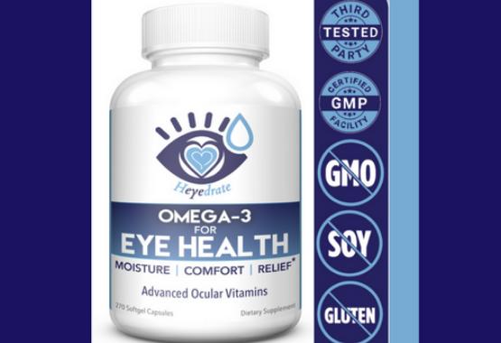 Heyedrate Omega-3 for Eye Health