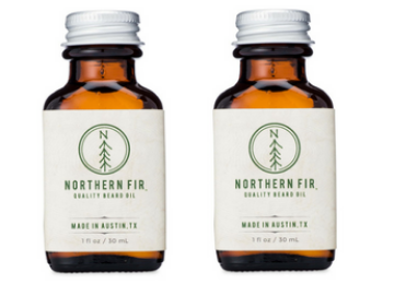 Northern Fir Quality Beard Oil 2 Bottles