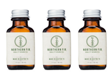 Northern Fir Quality Beard Oil 3 Bottles