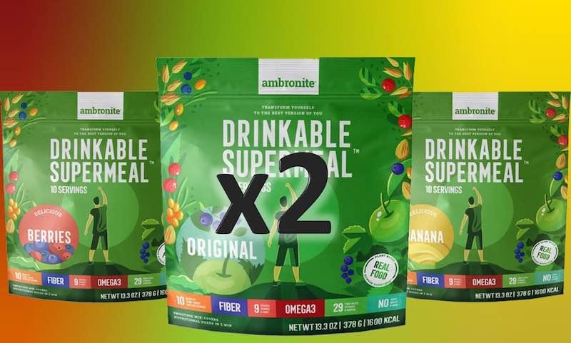 Ambronite 2 x 3 flavor bundle