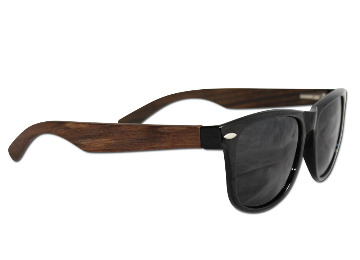 Eye Love Ebony Wood Sunglasses