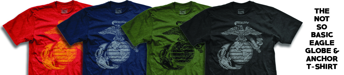 EAGLE GLOBE & ANCHOR T-SHIRT