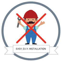 Easy, DIY Installation