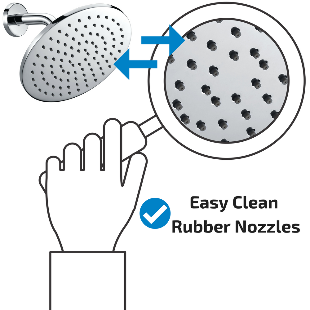 Easy Clean Rubber Nozzles