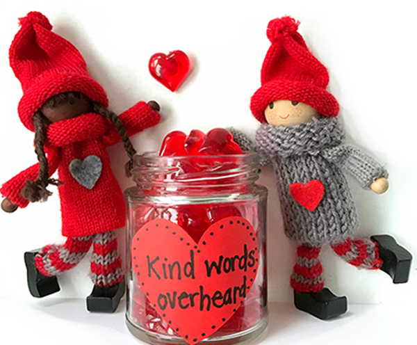 Kind Words Overheard Jar