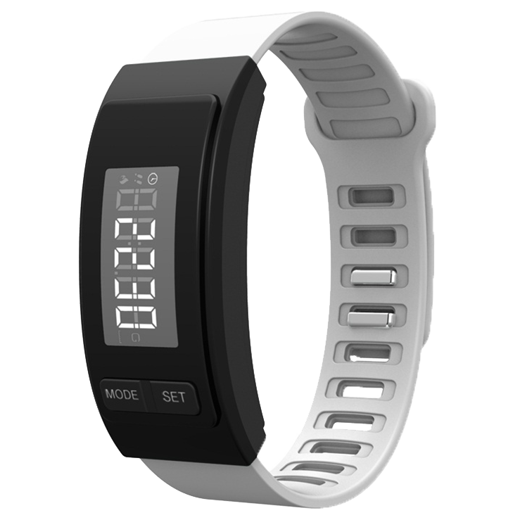 60% OFF Fitoru Fitness Tracker Bracelet (White)