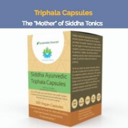 vegan triphala capsules