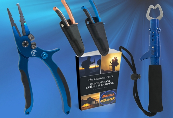 The Grab & Grip Fishing Tools Combo Pack