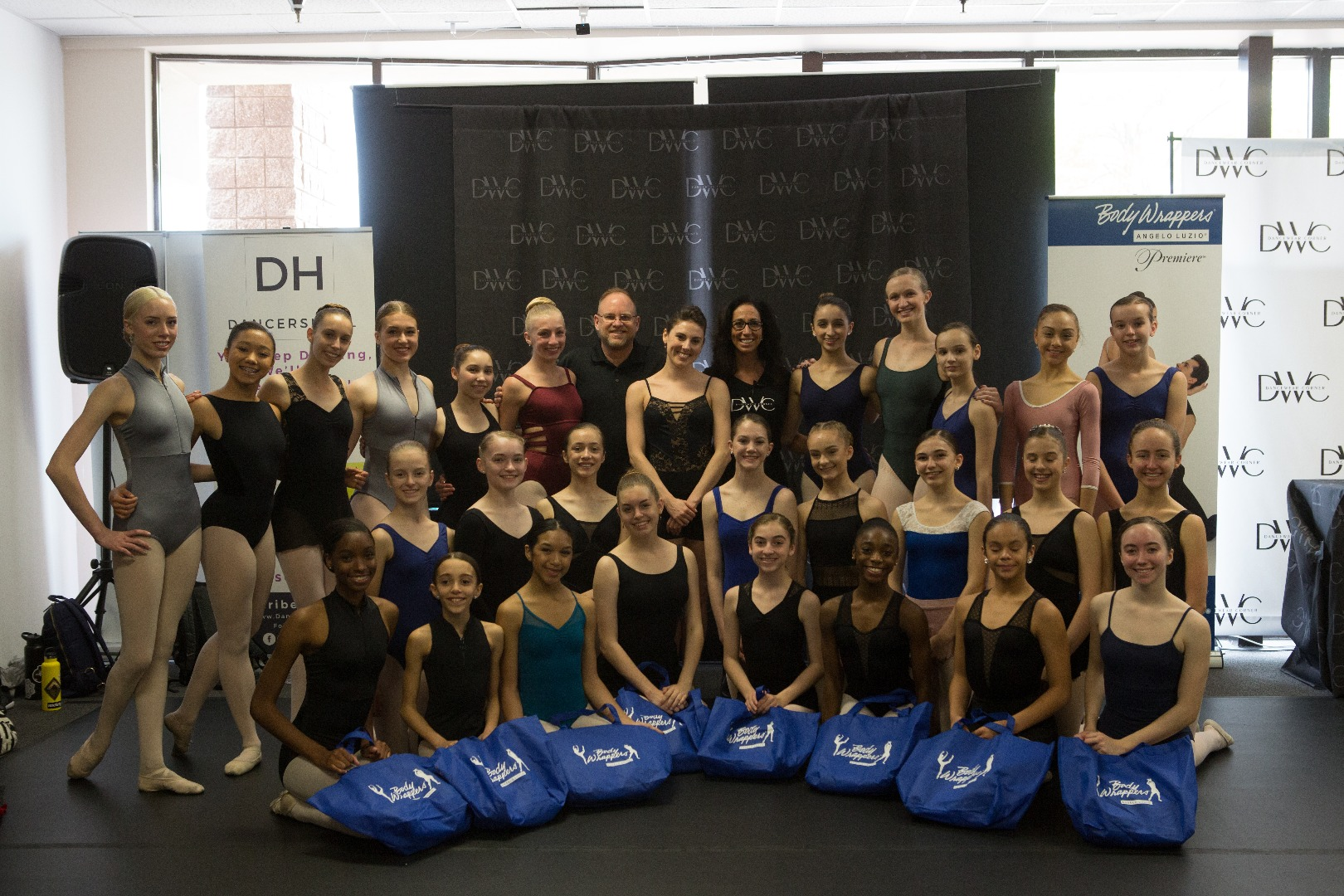 Tiler Peck and Bodywrappers at DWC