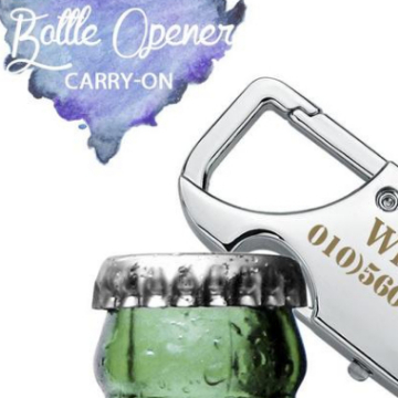 bottle opener keychain key chain