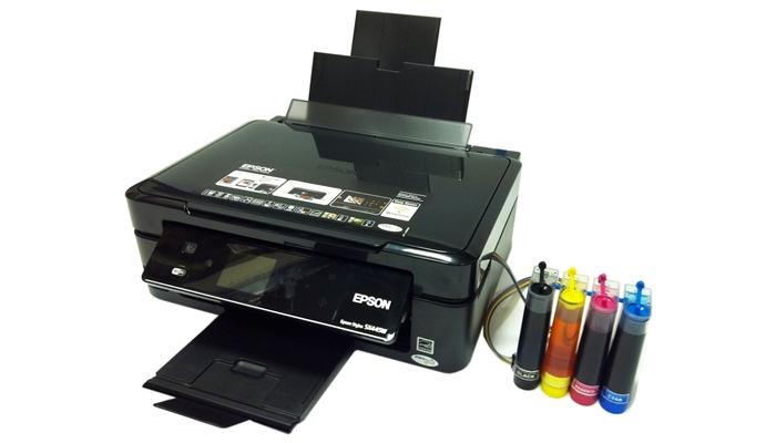 Printer Infus tidak rapi