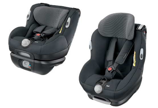 The Opal adjusts to fit infants or toddlers, rear or forward facing.
