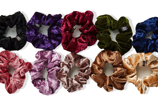 HAIR SCRUNCHIES 10 PACK