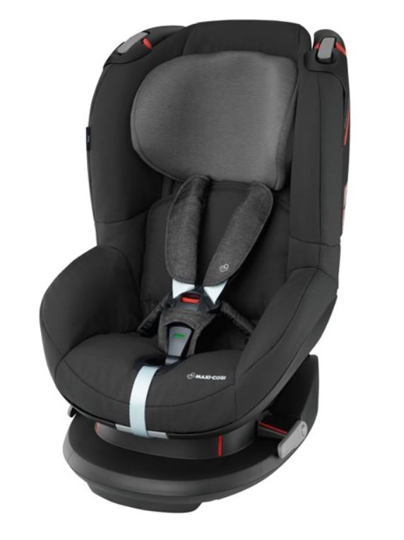 The Maxi-Cosi Tobi has an easy seatbelt install with a green indicator to show the harness is secure