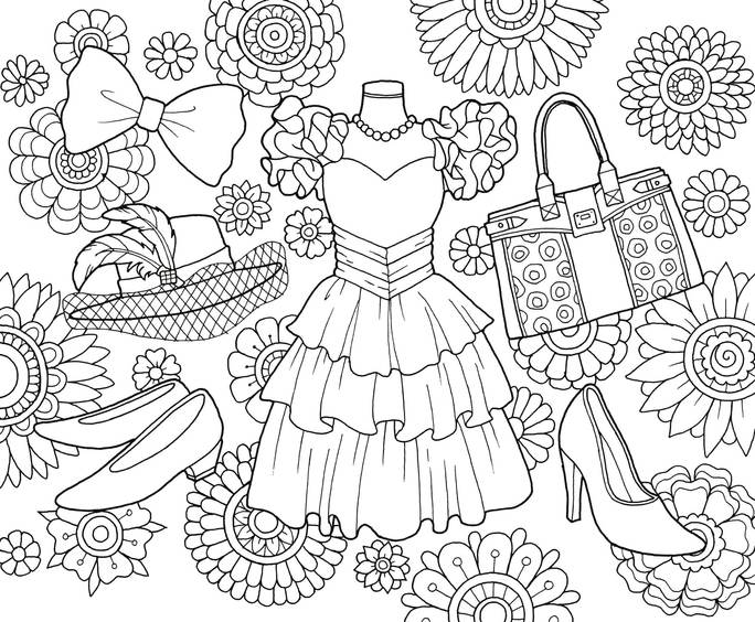 3 Marker Challenge Coloring Pages Printable | Hakume Colors