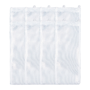 High-Flow Mesh Media Filter Bags with Drawstring - 3 Inch by 8 inch - 8 Pack