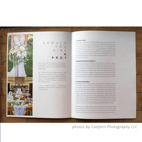 Weddings Photography Welcome Guide Template