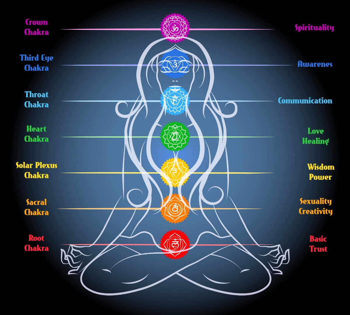 Image result for seven chakras