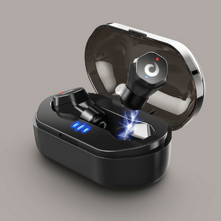 Écouteurs Sport sans fil Bluetooth 4.2 avec Etui de Charge