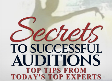 Secrets to successful auditions