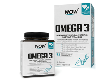 Buy Wow Life Science Omega 3