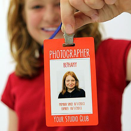 Photographer Badge for Kids Photography Club