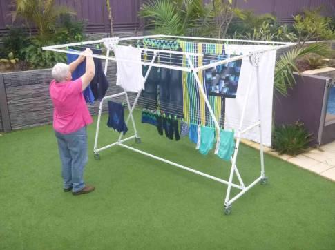 Fulcrum Mobile Clothesline