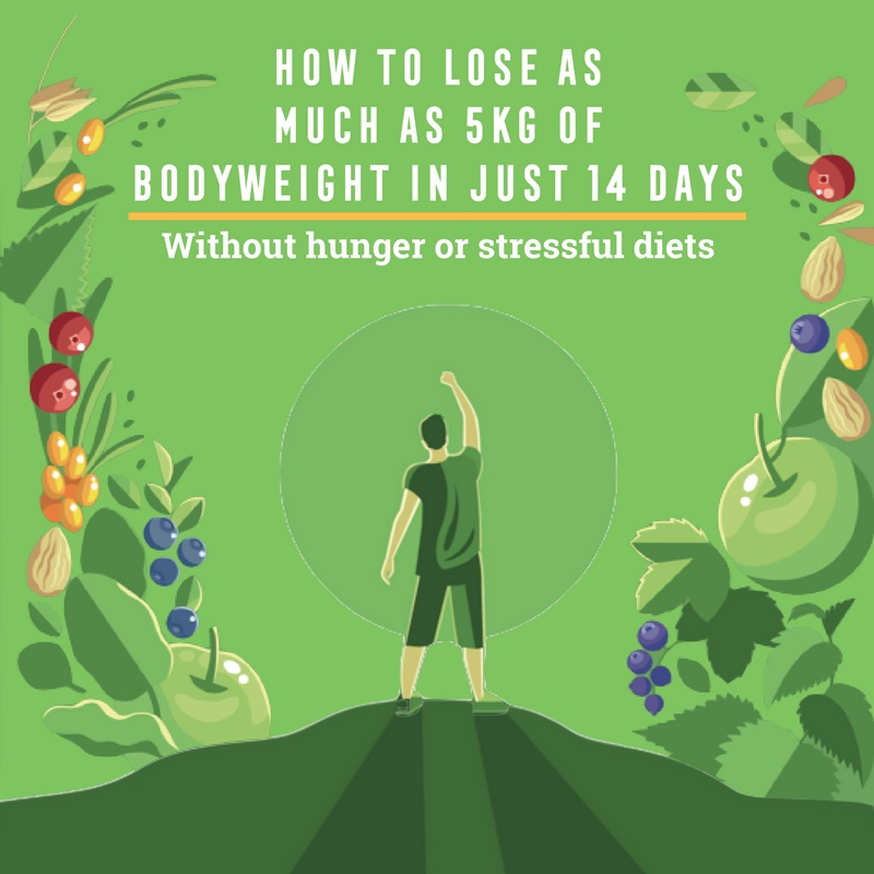 How to lose as much as 5kg of bodyweight in just 14 days, Ambronite ebook